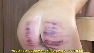 Very brutal and extremely bad Pain Toy torture with needles