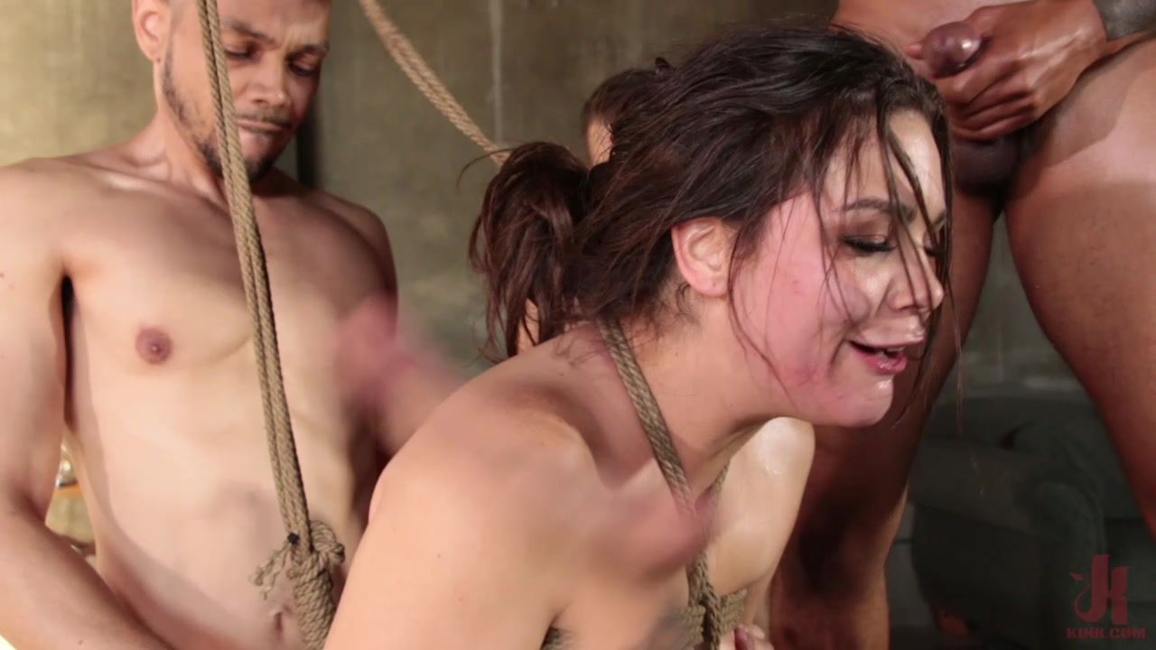 College Party Anal Gangbang