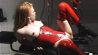 MELVA: Latex Redhead Toy